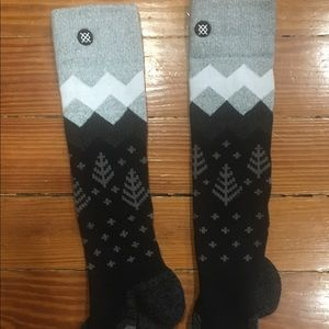 Brand New Stance Snowboard Woman's Socks Size Med